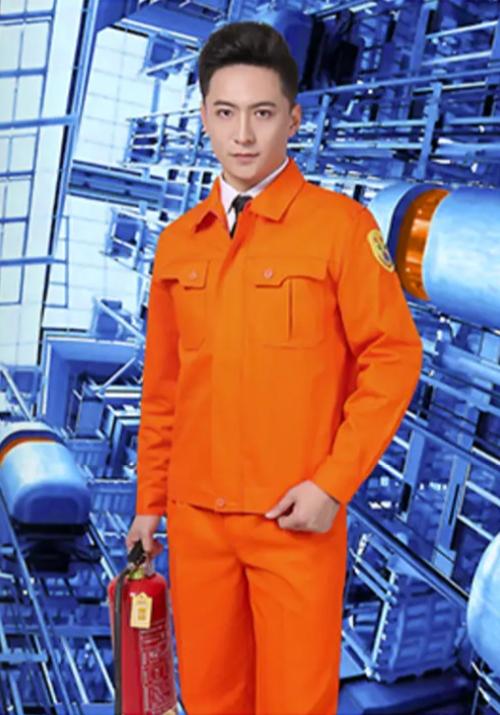 9103橘黄防阻燃单层系列